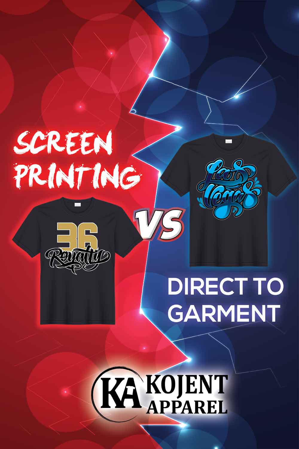Direct To Garment (DTG) Vs Screen Printing